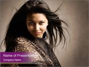 Indian Photo Model PowerPoint Templates