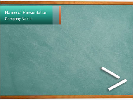School blackboard with chalk powerpoint template backgrounds school blackboard with chalk powerpoint template toneelgroepblik Gallery