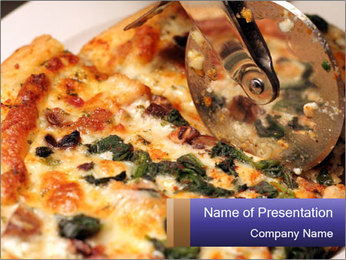 Neapolitan Pizza PowerPoint Template