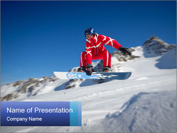 Freestyle Ski Competition PowerPoint Template