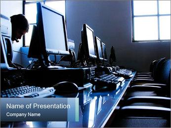Empty Office PowerPoint Template