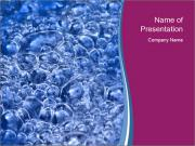 Abstract Water Bubbles PowerPoint Templates