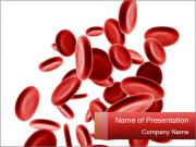 3D Red Blood Cells PowerPoint sunum şablonları