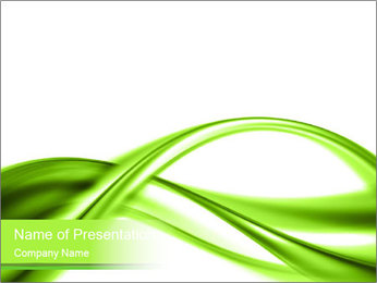 Green Infinity PowerPoint Template