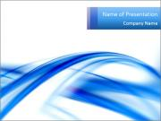 Abstract Blue Infinity PowerPoint Templates