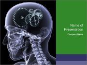 Brain Mechanism PowerPoint Templates