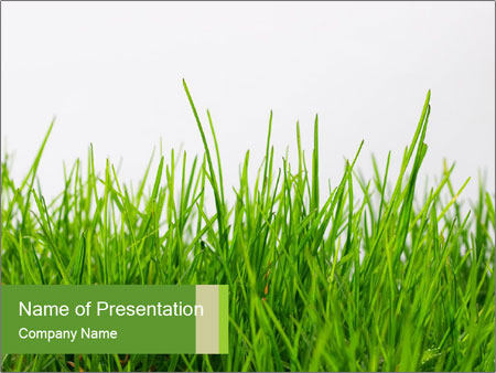Grass Powerpoint Template Quantumgaming