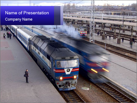 Tickets powerpoint template smiletemplates railway station in russia powerpoint template toneelgroepblik Image collections