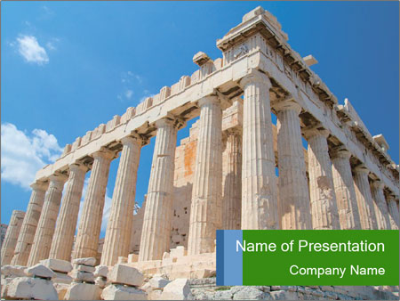 Antique acropolis powerpoint template backgrounds id 0000016477 antique acropolis powerpoint template toneelgroepblik Gallery