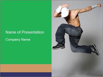 Krump Style Dance PowerPoint Template