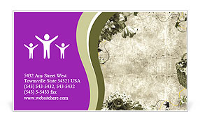 0000016662 Business Card Template