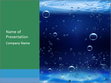 Water bubbles powerpoint template backgrounds id 0000016717 water bubbles powerpoint template toneelgroepblik Image collections