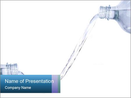 Splashing water from two plastic bottles powerpoint template splashing water from two plastic bottles powerpoint templates toneelgroepblik Choice Image