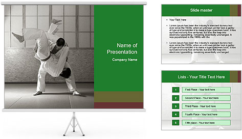 asian martial arts powerpoint template backgrounds id 0000016876. Black Bedroom Furniture Sets. Home Design Ideas