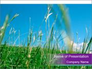 Fresh Glass in the Countryside PowerPoint Templates