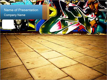 Abstract graffiti powerpoint template backgrounds id 0000017046 abstract graffiti powerpoint template toneelgroepblik Image collections