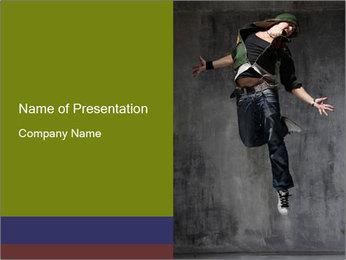 HipHop Jamper PowerPoint Template