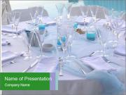 Wedding Table Decoration PowerPoint Templates