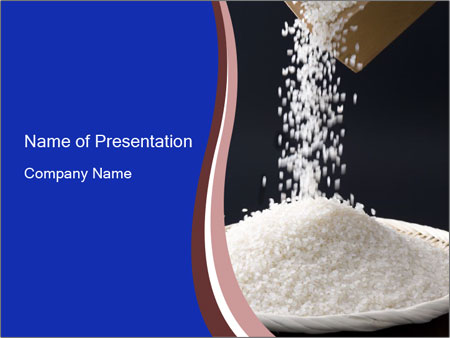 White rice grains powerpoint template backgrounds id 0000017470 white rice grains powerpoint templates toneelgroepblik Choice Image