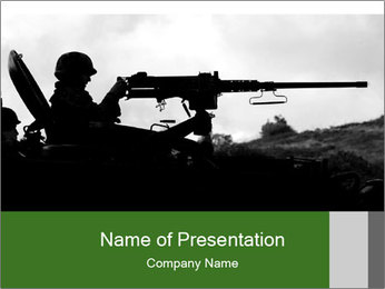 Military Conflict PowerPoint Template
