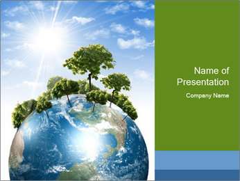 Save Rain Forest PowerPoint Template