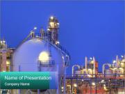 Modernes installations de production chimique Modèles des présentations  PowerPoint