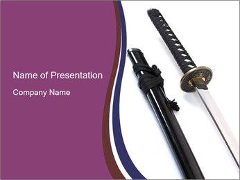 Warrior Sword PowerPoint Template