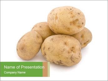 Organic Potatoe PowerPoint Template