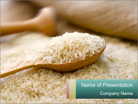 Healthy broun rice powerpoint template backgrounds id 0000018070 healthy broun rice powerpoint templates toneelgroepblik Choice Image