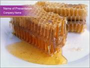 Raw Honeycomb Health Benefits PowerPoint Templates