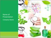 Medical Equipment and Pill PowerPoint Templates