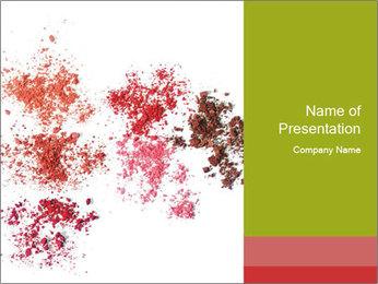 Palette Ombre des yeux rouges Modèles des présentations  PowerPoint