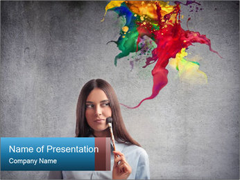 Creative Solution For Make-Up PowerPoint Template