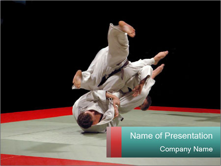 International judo tournament powerpoint template backgrounds id international judo tournament powerpoint template toneelgroepblik