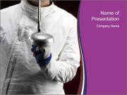 Professional Fencing Tournament PowerPoint Templates