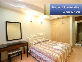 Bedroom Hotel Interior PowerPoint Template