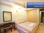 Bedroom Hotel Interior PowerPoint Templates