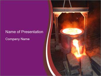 Liquid Metal Verser Modèles des présentations  PowerPoint