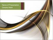 Цифровые Abstract Waves Шаблоны презентаций PowerPoint