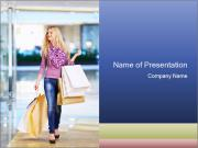 Pleasant Shopping PowerPoint Templates