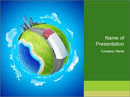 Logistics Concept Powerpoint Template Backgrounds Google Slides