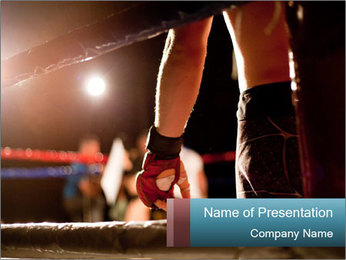 Boxing Ring PowerPoint Template