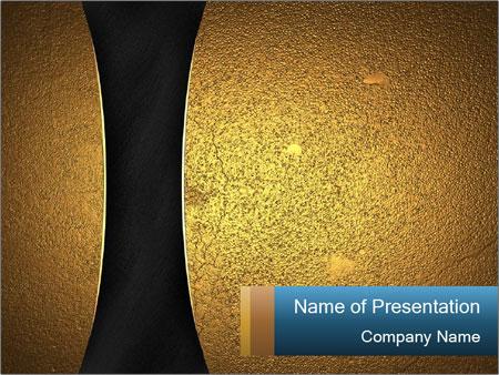Black and golden texture powerpoint template backgrounds google black and golden texture powerpoint template toneelgroepblik Images