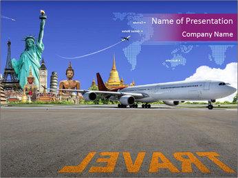 Travel Worldwide PowerPoint Template