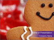 Cute Gingerbread PowerPoint Templates