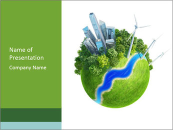 Eco Metropolis PowerPoint Template