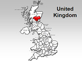 United Kingdom Maps for PowerPoint