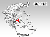 Greece Maps for PowerPoint