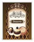 Desserts Menu Template