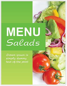 Salads Menu Template